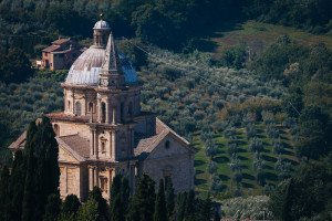 The Church of San Biagio in Montepulciano, Tuscany