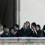 Participants at Palazzo della Cancelleria in Rome