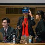 HoloLens trial at the Hackathon