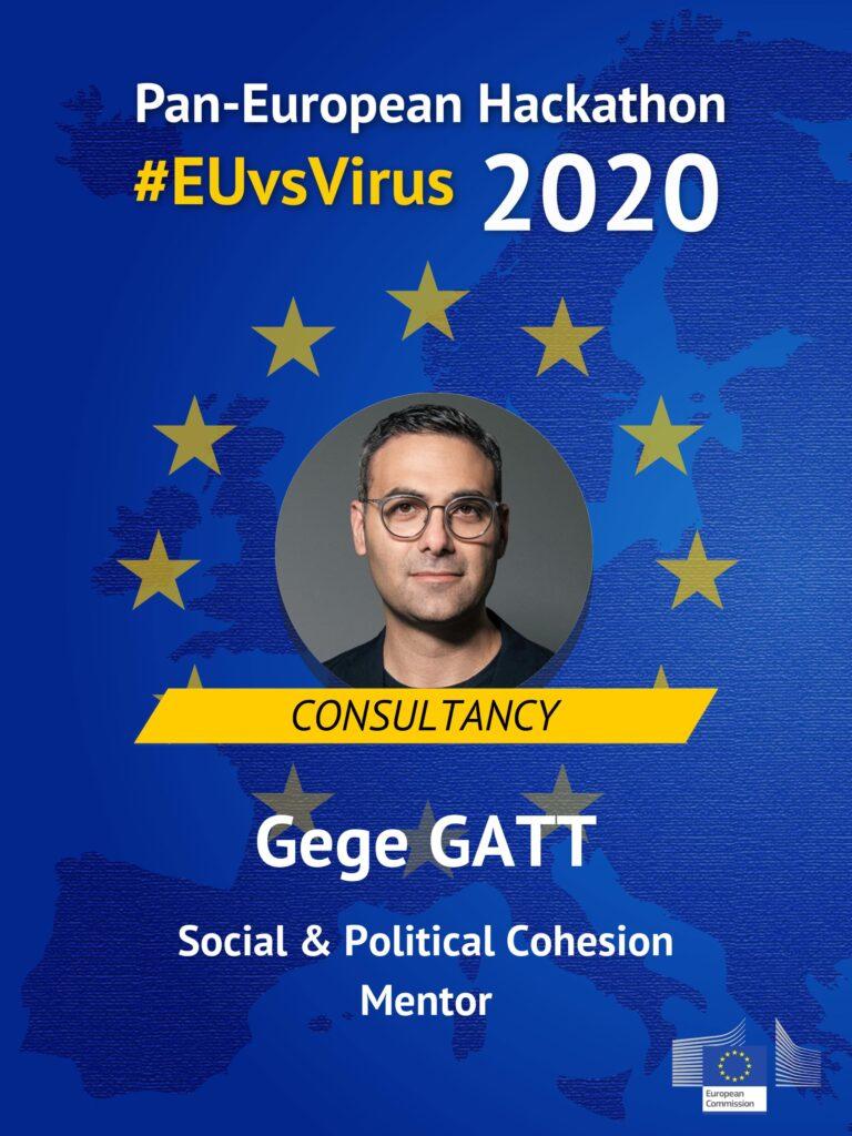 Dr. Gege Gatt EUvsVirus Hackathon